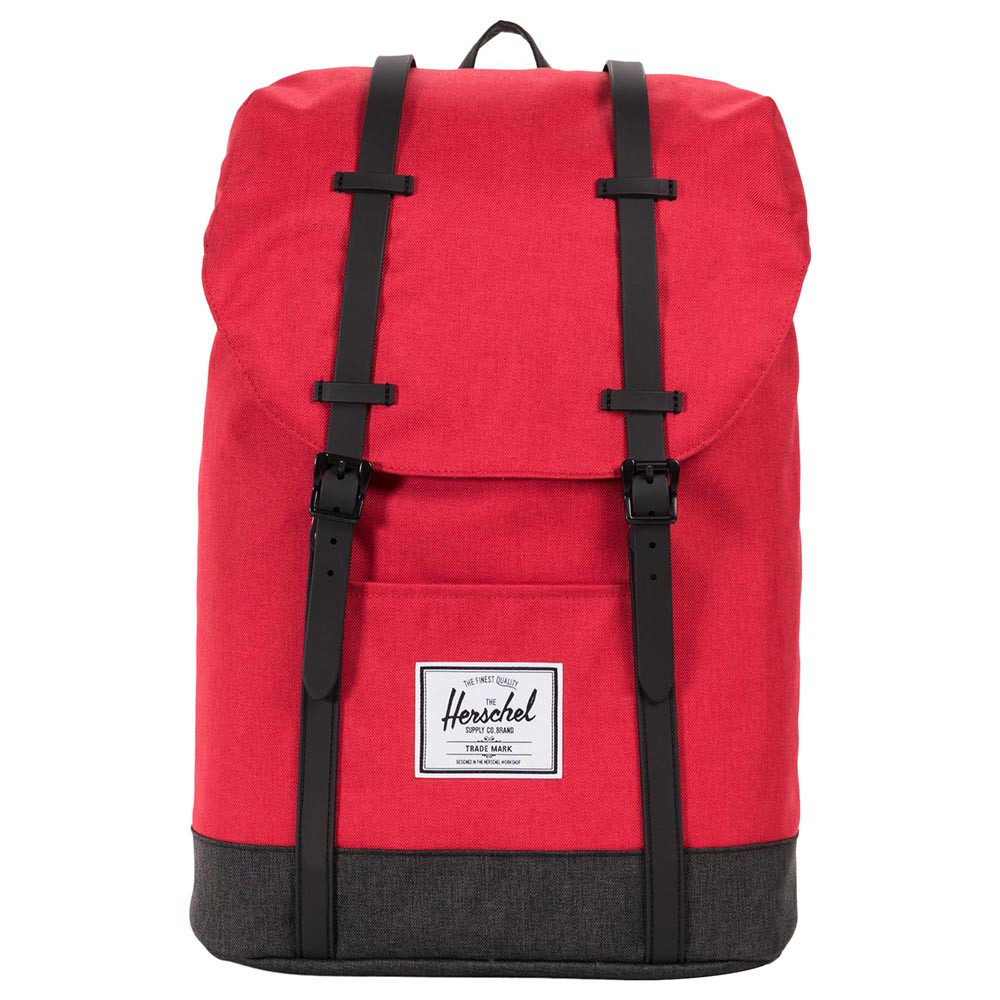 050f61cb9aa Herschel - Retreat Barbados Cherry Crosshatch - Black