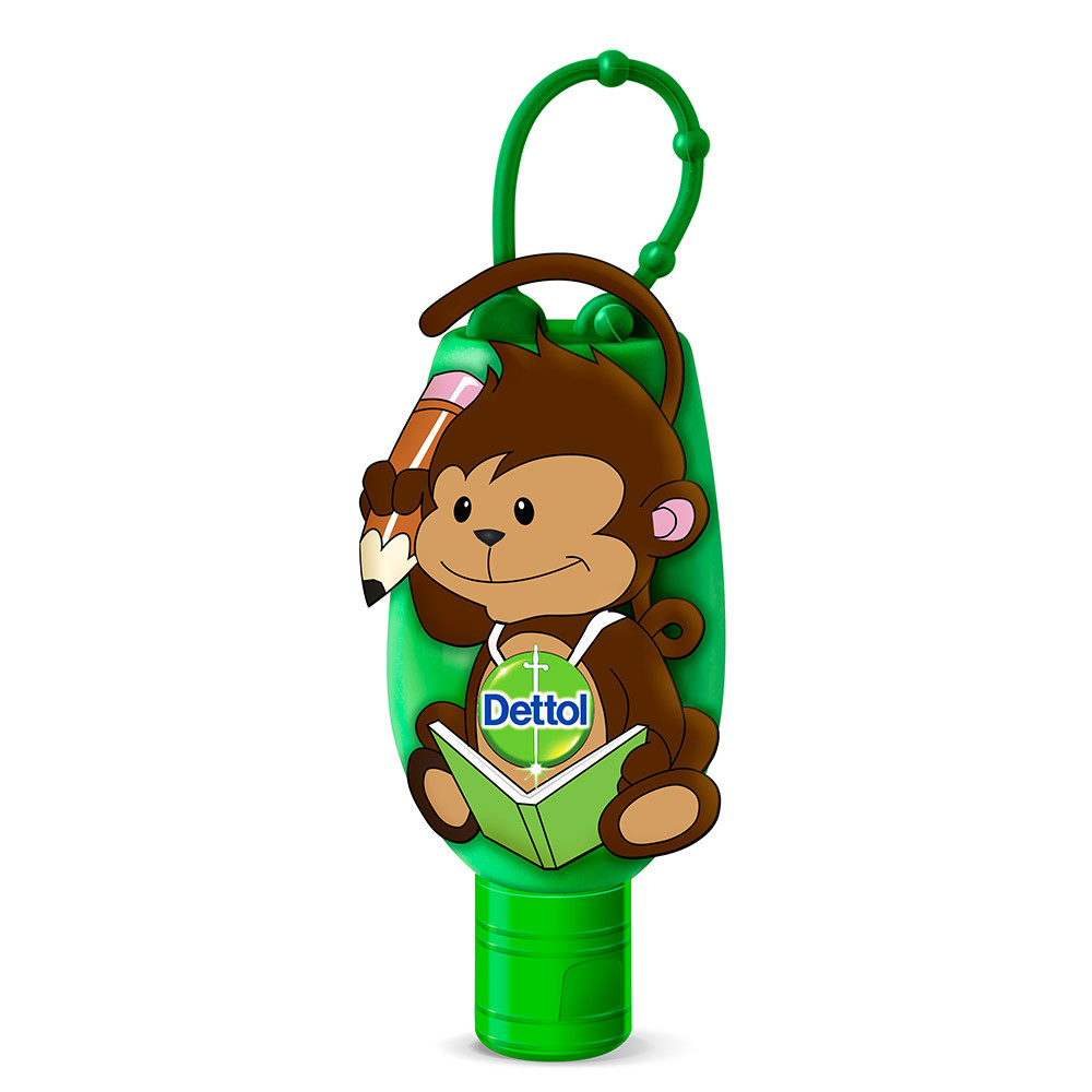 dettol original hand sanitizer with limited edition monkey
