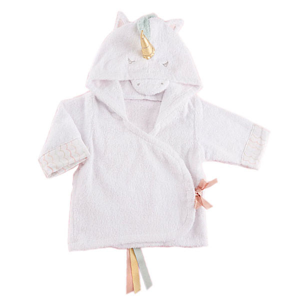 2bf8a08969eb Baby Aspen - Simply Enchanted Unicorn Hooded Spa Robe