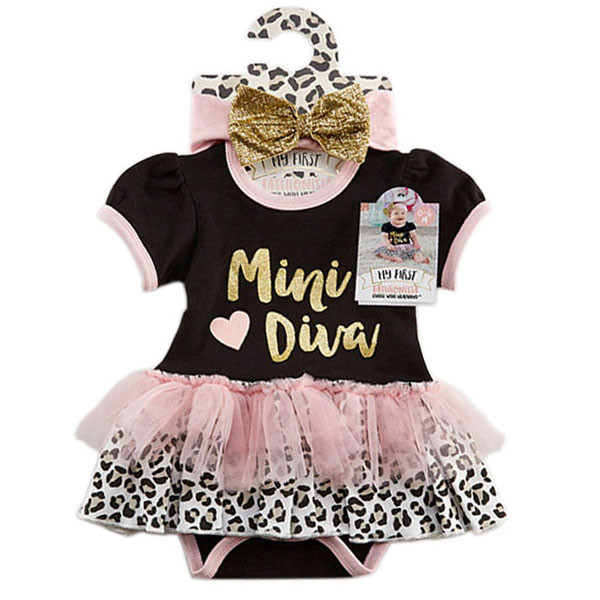 06864099f8ca Baby Aspen - My First Fashionista Outfit with Headband