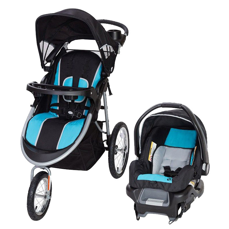 Babytrend Pathway 35 Jogger Travel System Optic Aqua