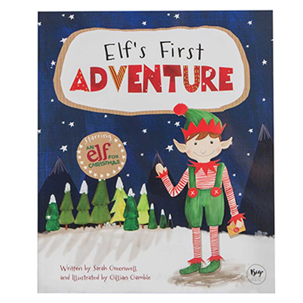 an elf for christmas elf s first adventure story book