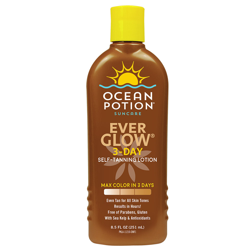 Ocean Potion Everglow 3 Day Self Tanning Lotion 251ml
