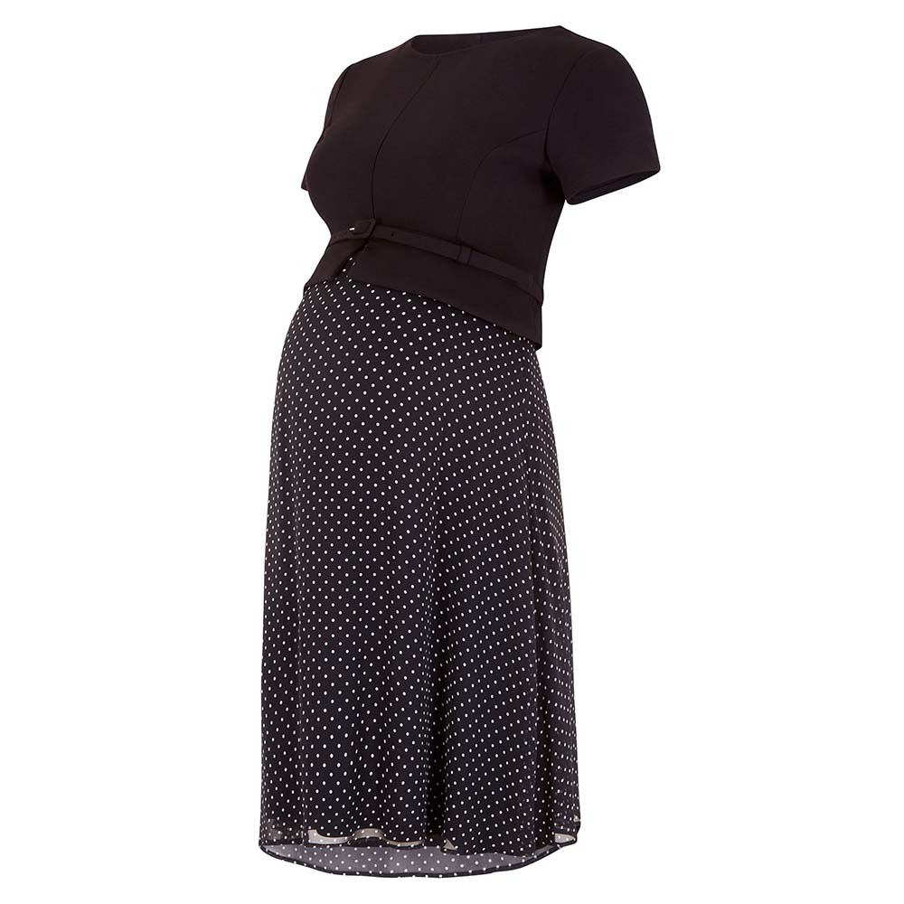 a379dada8d0c0 Seraphine - Jill: Ponte Nursing Dress - Blackdot