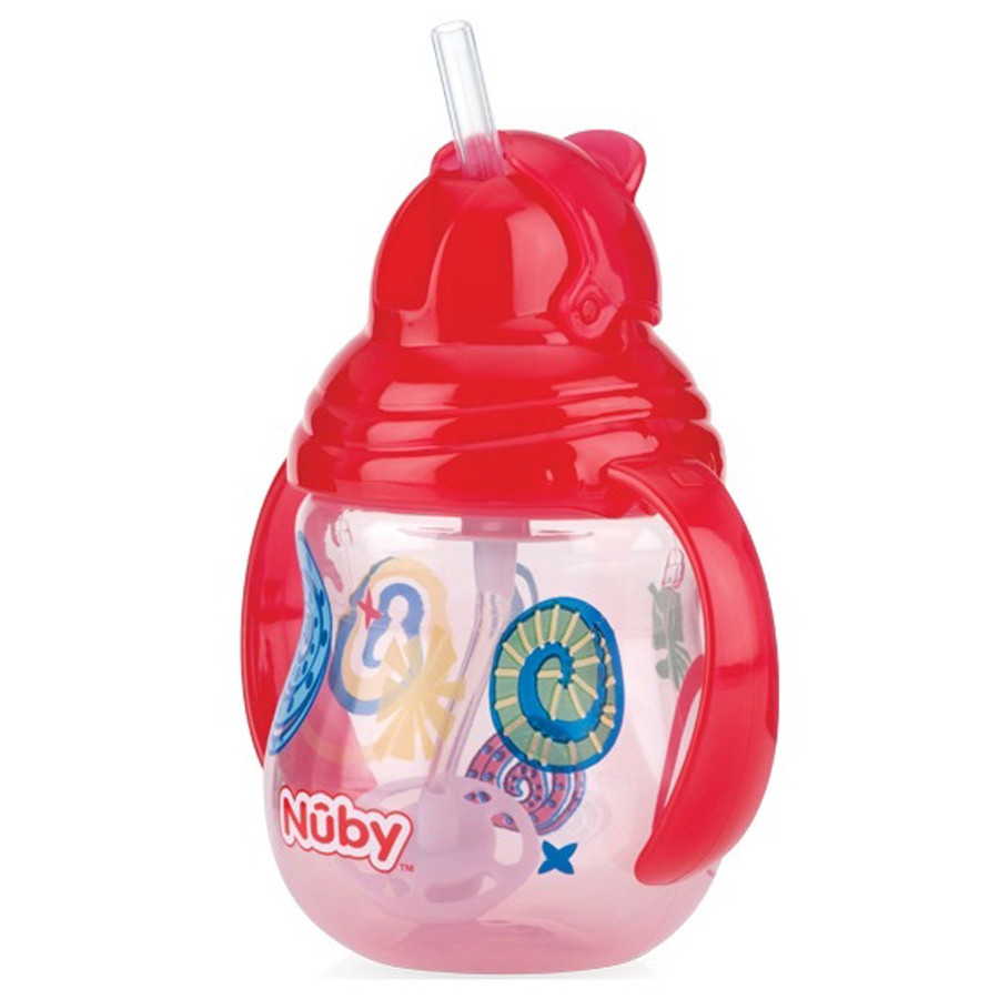Nuby Clik It Flip N Sip Straw 360 Cup Red Tommee Tippee Insulated Sippee 12m Yellow Bee