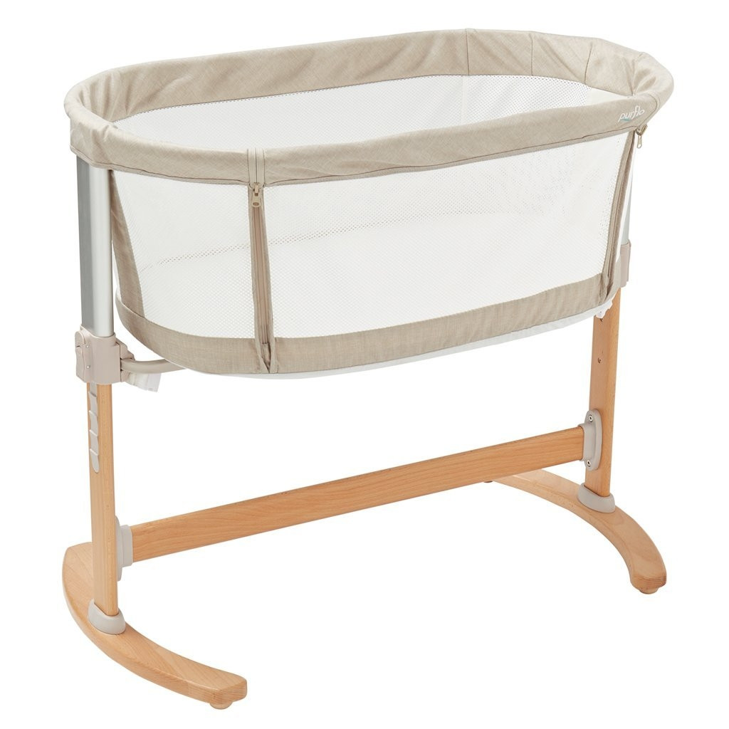 uk availability 241f5 27a6f Purflo Pur-Air Breathable Bedside Crib