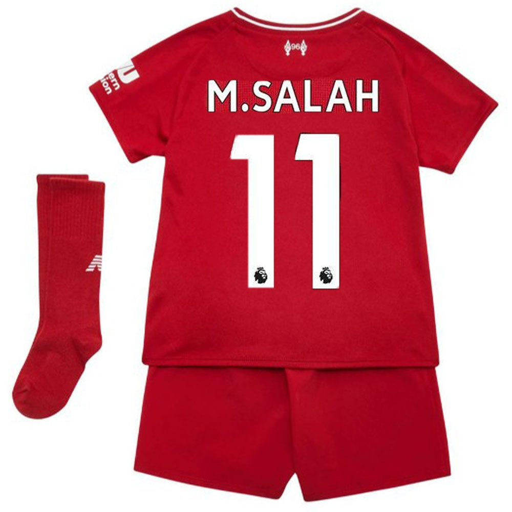 on sale 04a17 6ef03 Liverpool Home Kit - Mo Salah