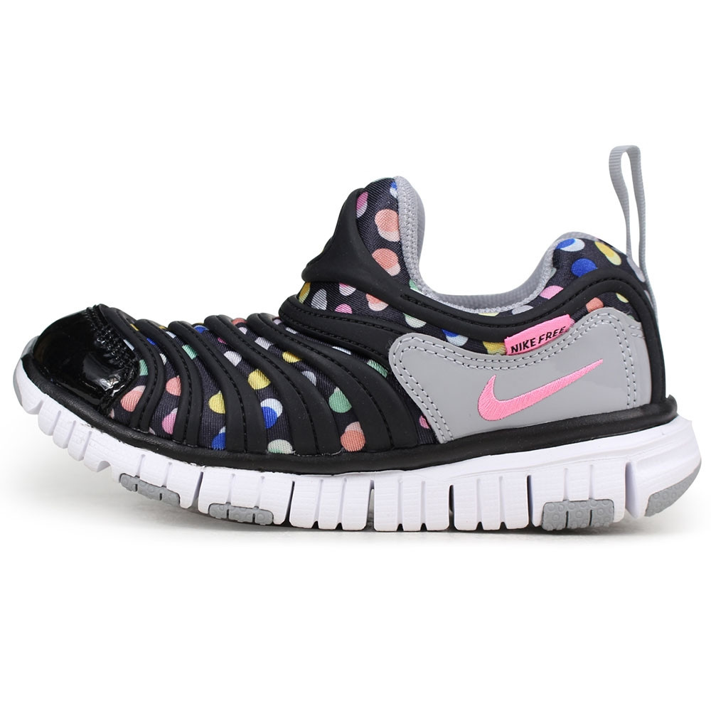 ed9f004dc90 NIKE - Dynamo Free Print Preschool Shoes - Black
