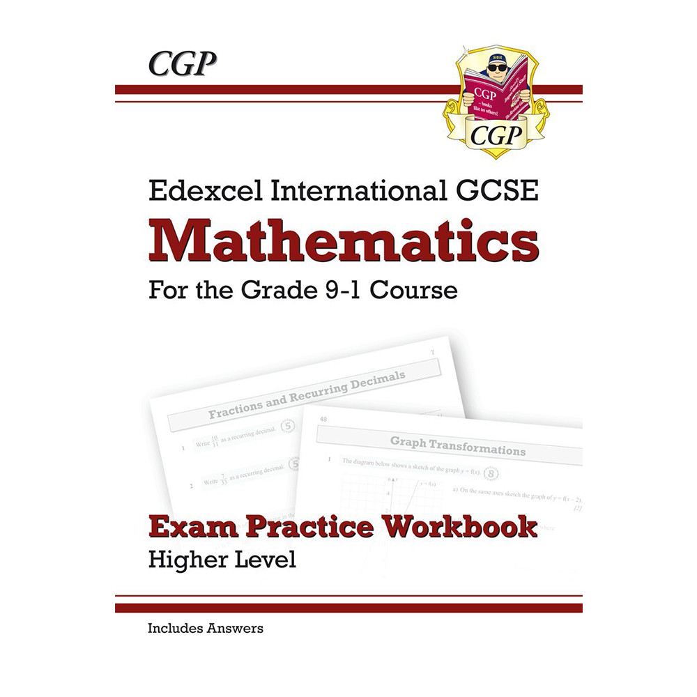 Workbooks practice workbook : GCSE Edexcel International Maths Exam Practice Workbook (Grade 9-1)