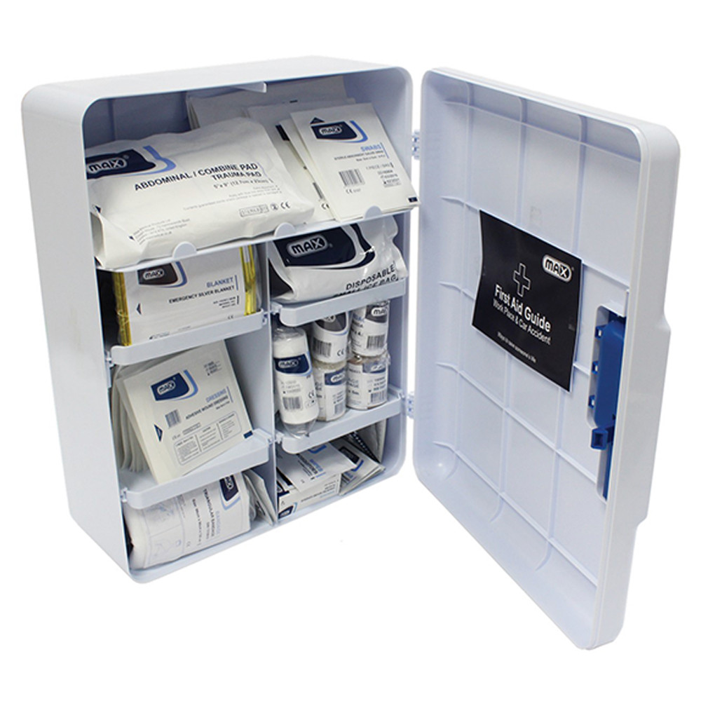Max Medical - First Aid Cabinet FM025 with Contents