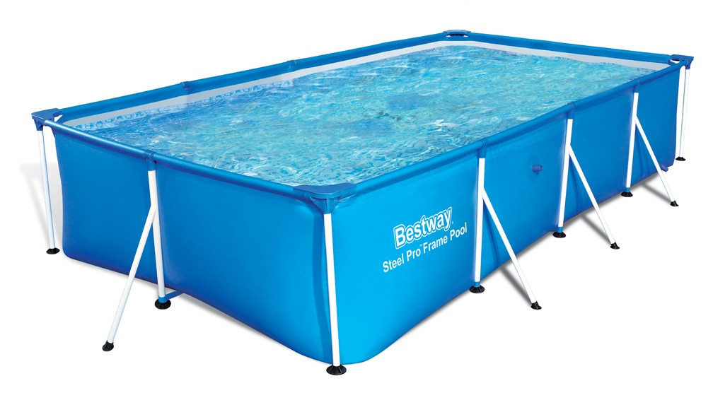 Bestway Steel Pro Frame Rectangular 5700l Above Ground Pool