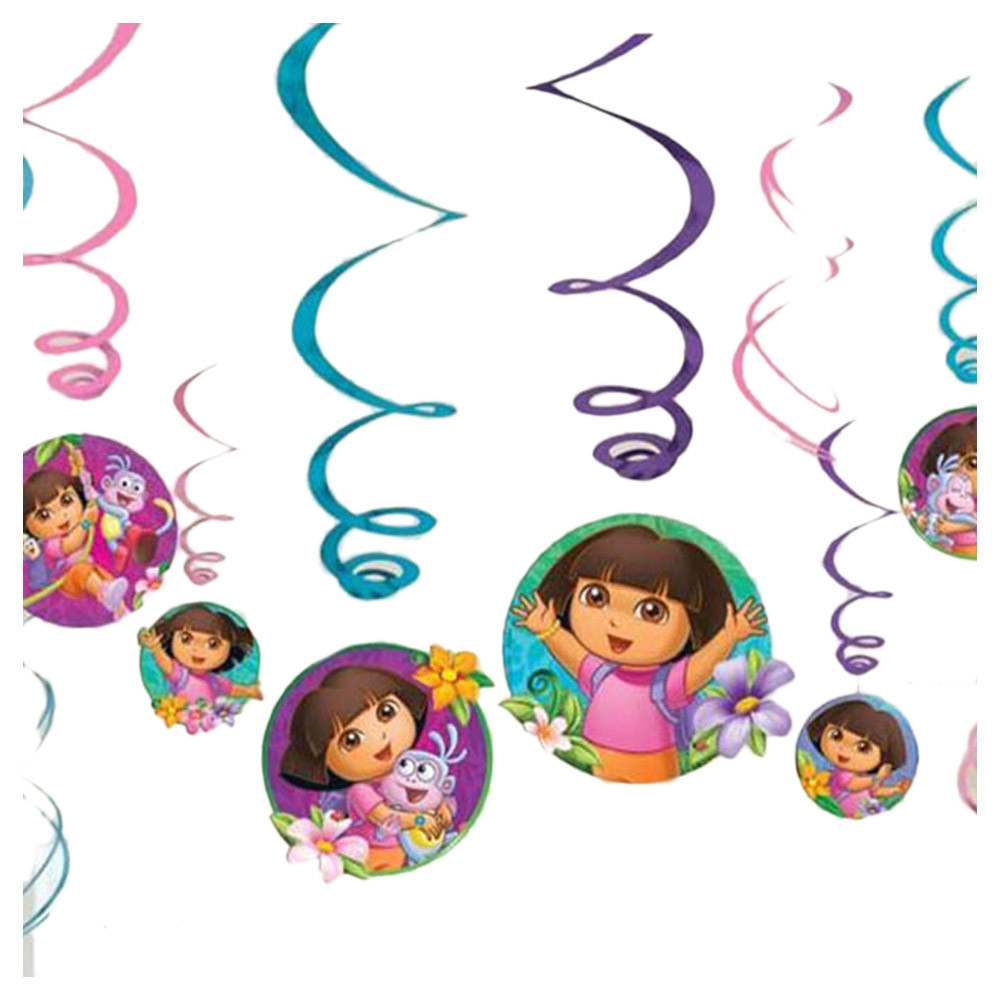 DORA THE EXPLORER Flower Adventure CONFETTI ~ Birthday Party Supplies Decoration