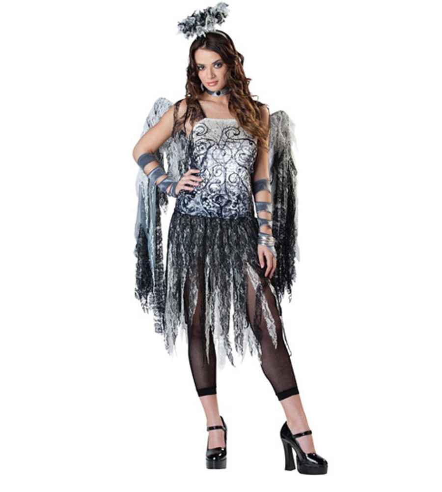 teen dark angel halloween costume