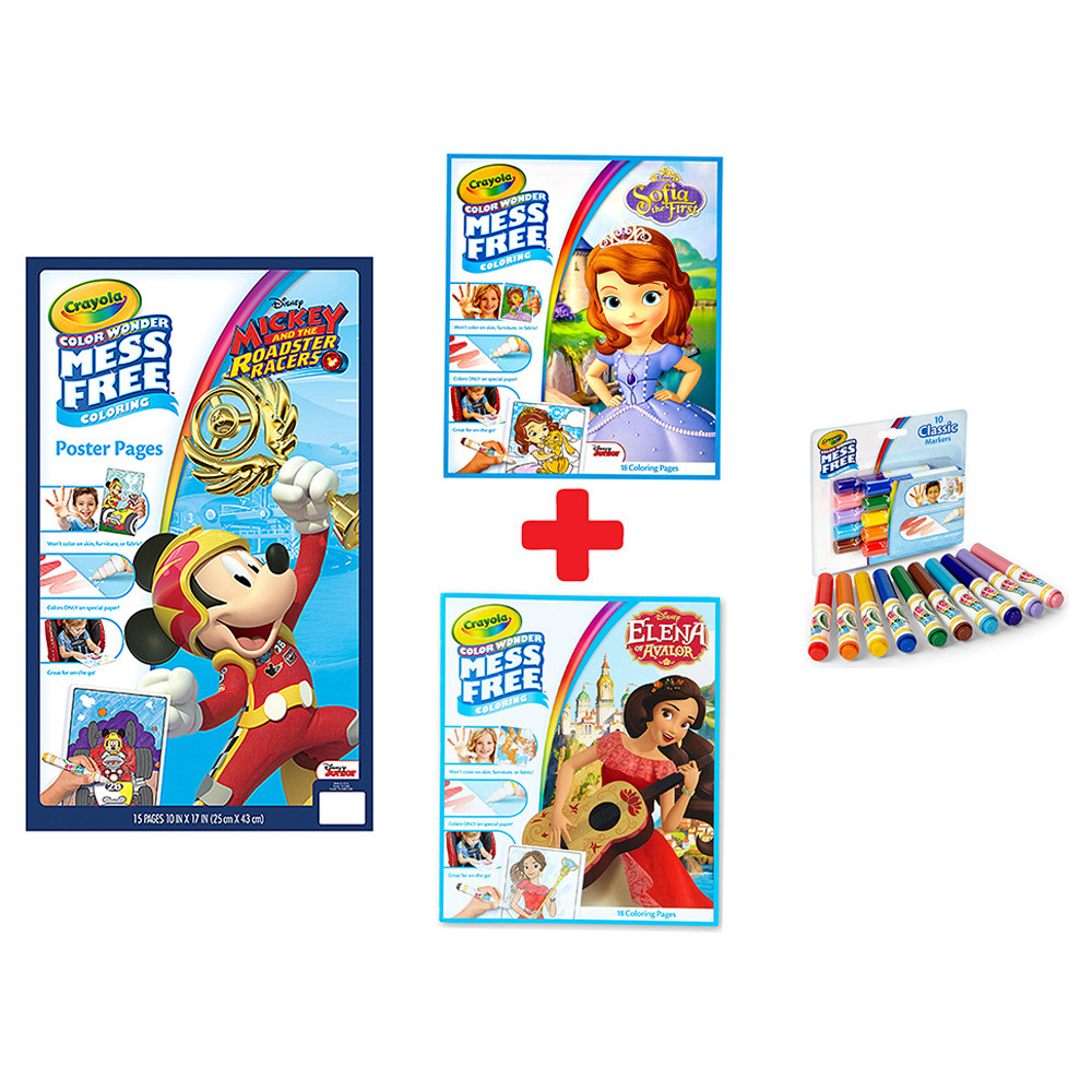 Crayola - Color Wonder Coloring Books and Markers