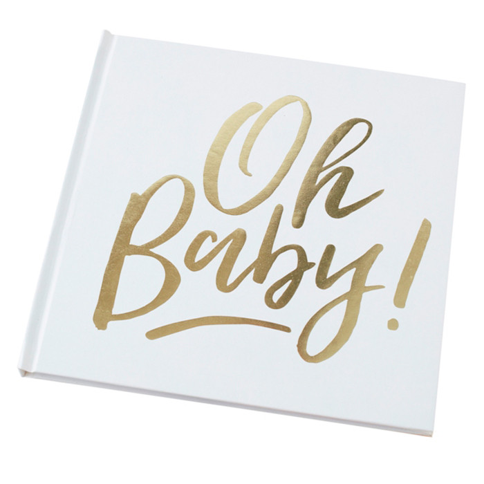 Ginger Ray - Oh Baby! Guest Book