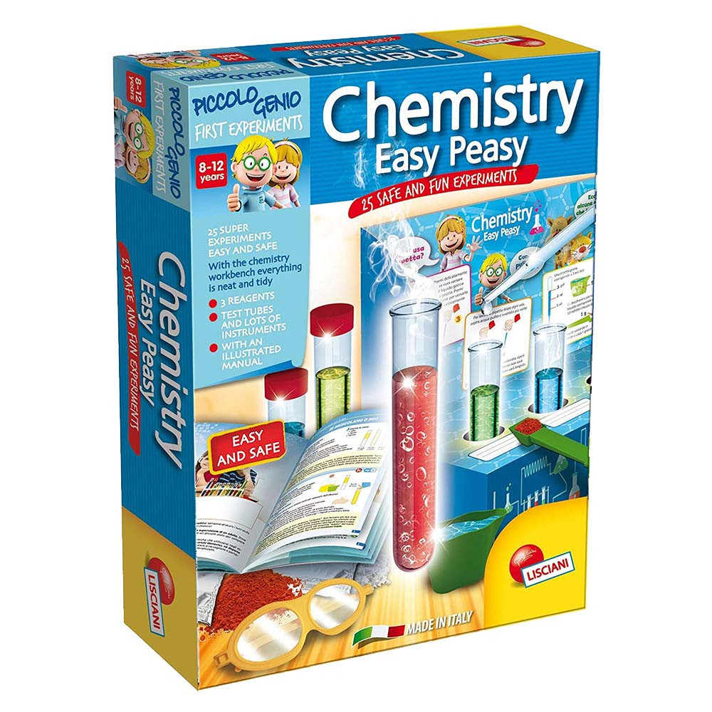 Lisciani - Super Easy Chemistry Experiments Educational Toy