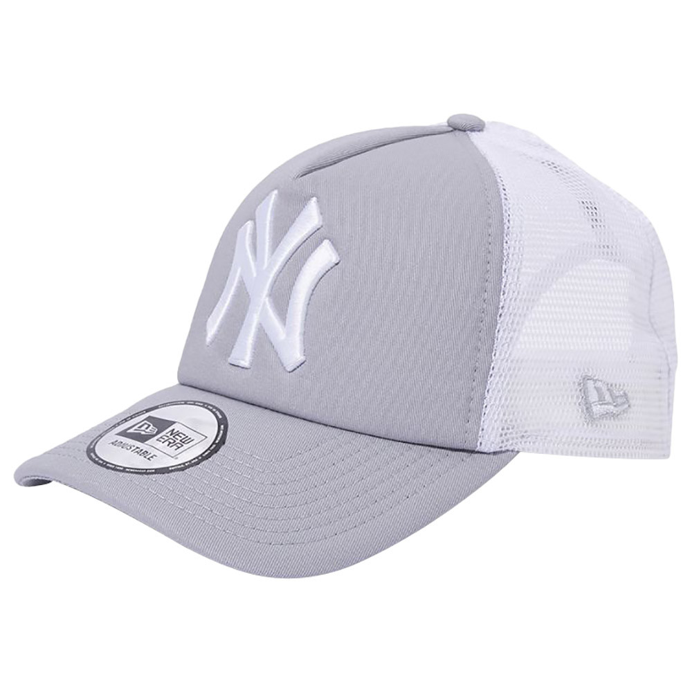 733915f5dfb New Era - MLB New York Yankees A-Frame Trucker Cap - Gray   White