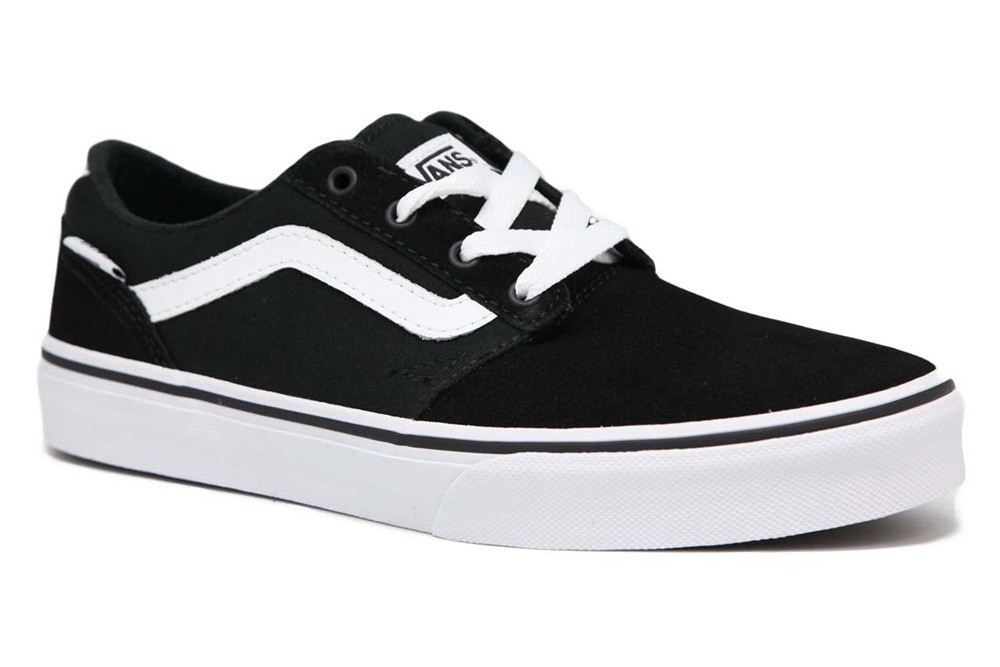 c0a74270909 Vans - Chapman Stripe - Black   White