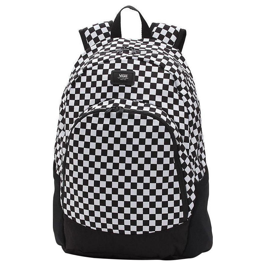 e1f06afa6d Vans - Van Doren Original Backpack - Black & White