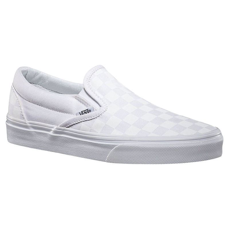 Vans - Classic Slip-On - White Checkerboard 3a9bbd5c2