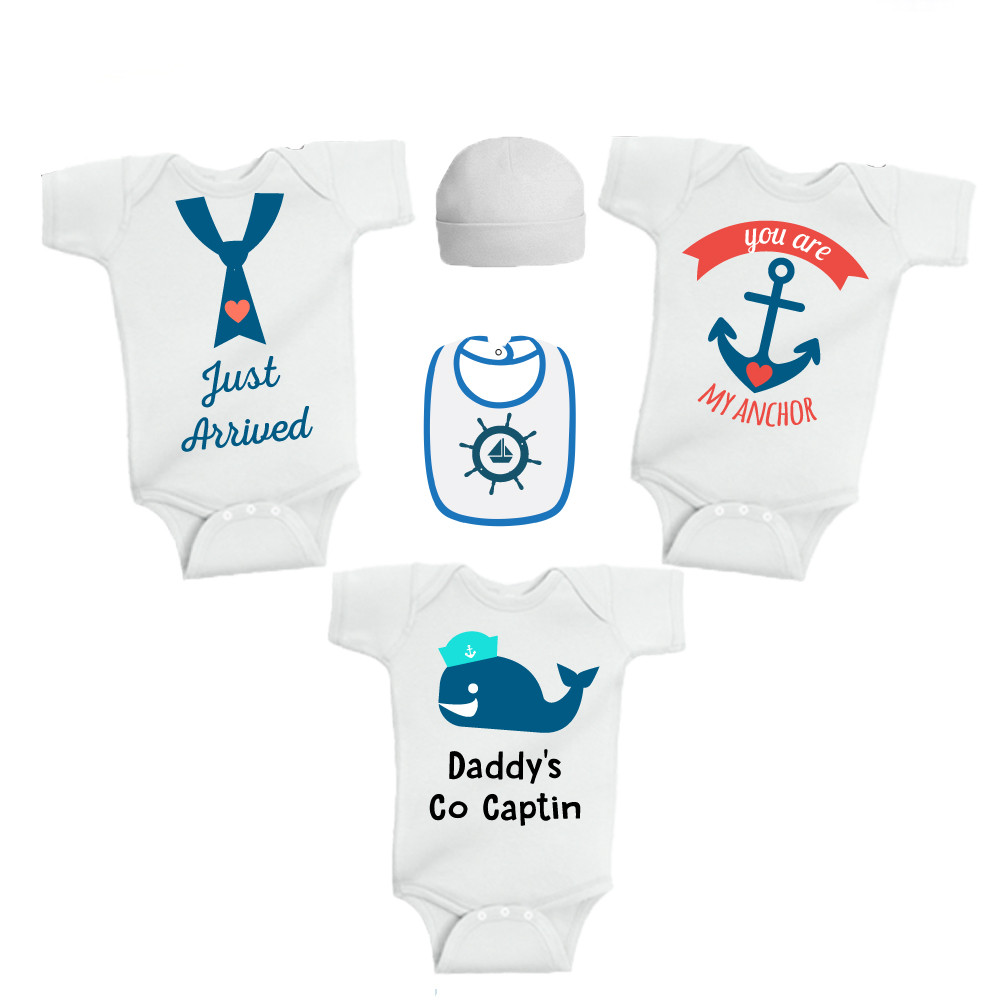 c0e27ddbe Twinkle Hands - Just Arrived Baby Boy baby onesie - 5pc Set