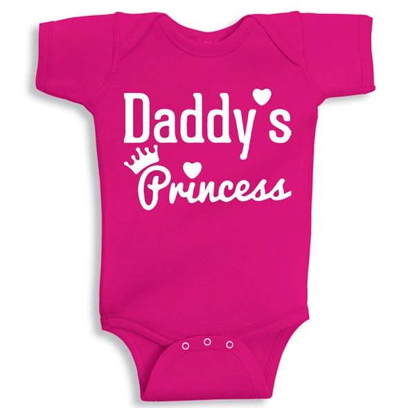 e6f56eac7 Twinkle Hands - Daddy's Princess, Onesie