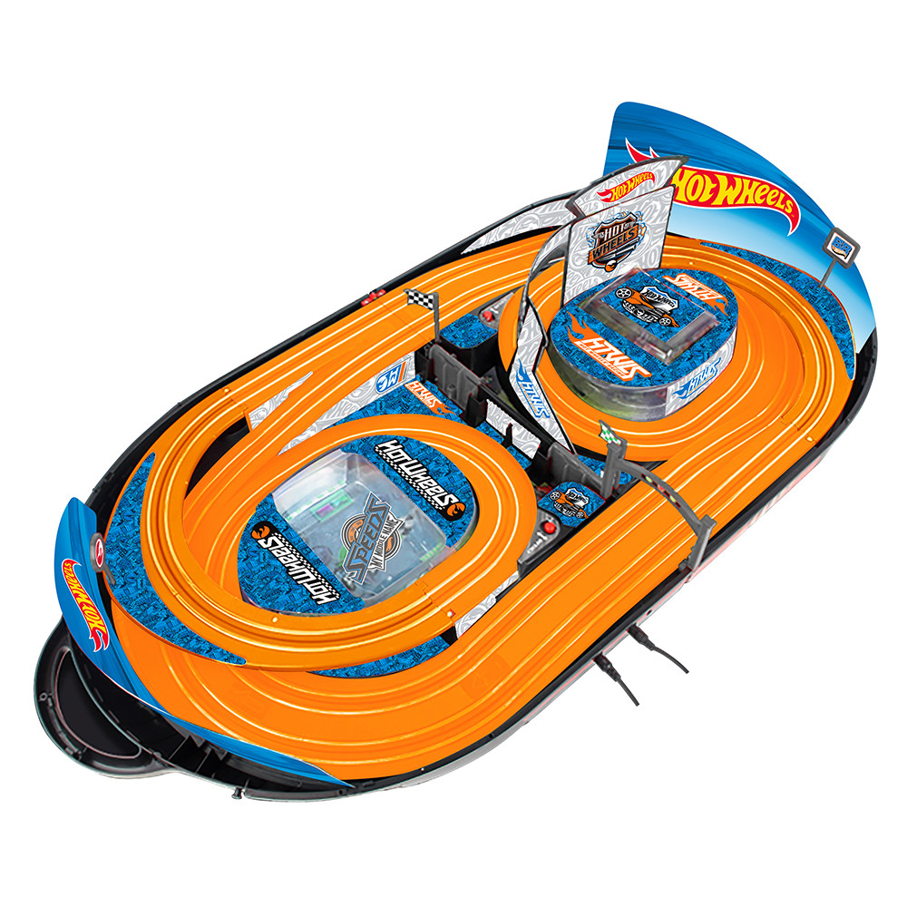 Kidztech 1 64 Hotwheels Carrying Case 280cm Orange