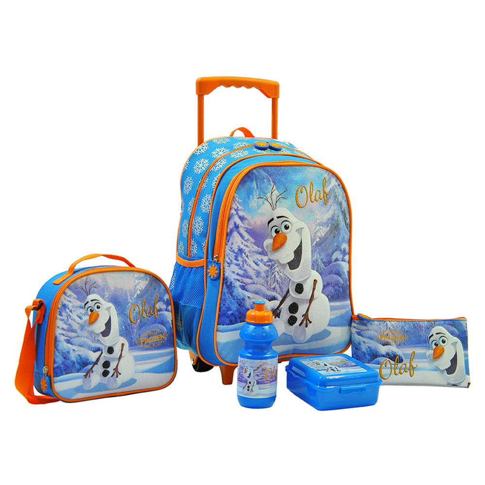 4fe775669fc4d Disney - Frozen Winter Smile Trolley Bag School Set 16