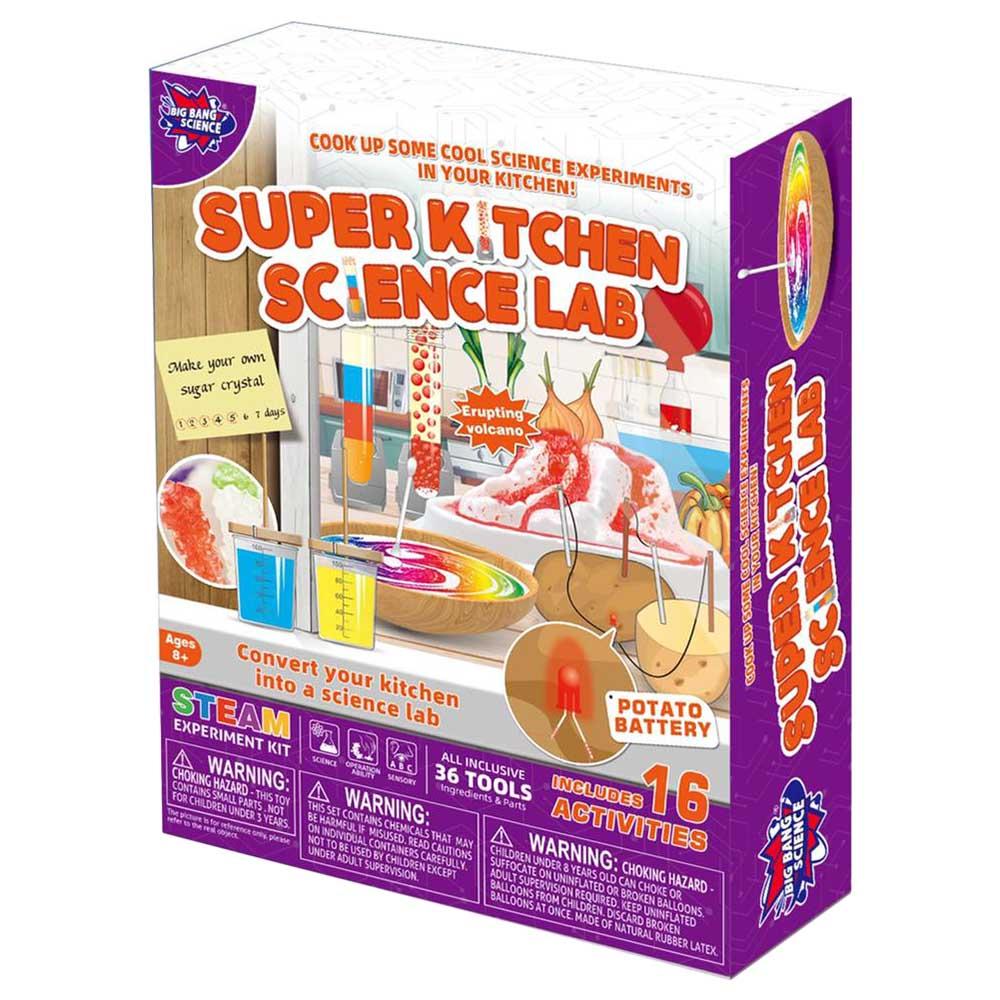 Brain Giggles STEM  Super Kitchen Science Lab Kit
