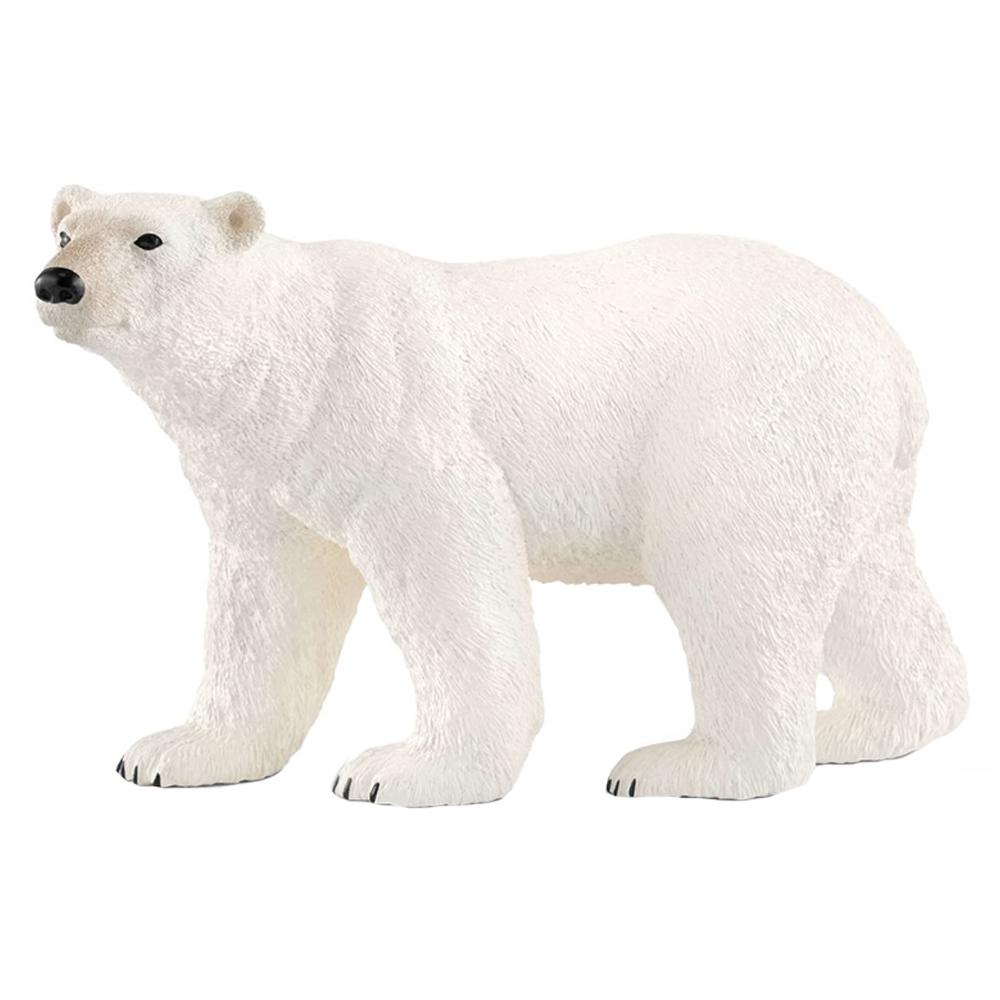 دب قطبي من ماركة شلايك أبيض