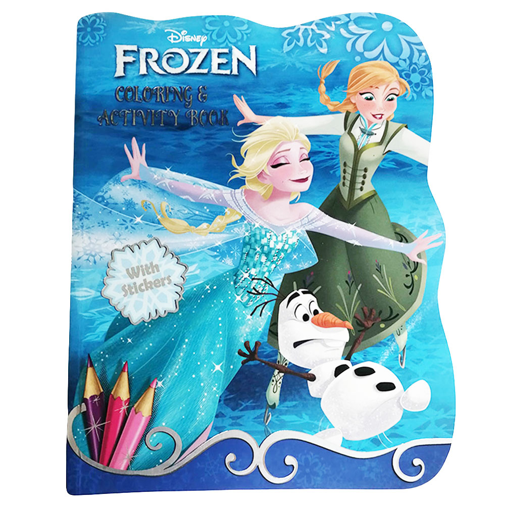 Disney Frozen 2 Jumbo Coloring Activity Book 80 Page