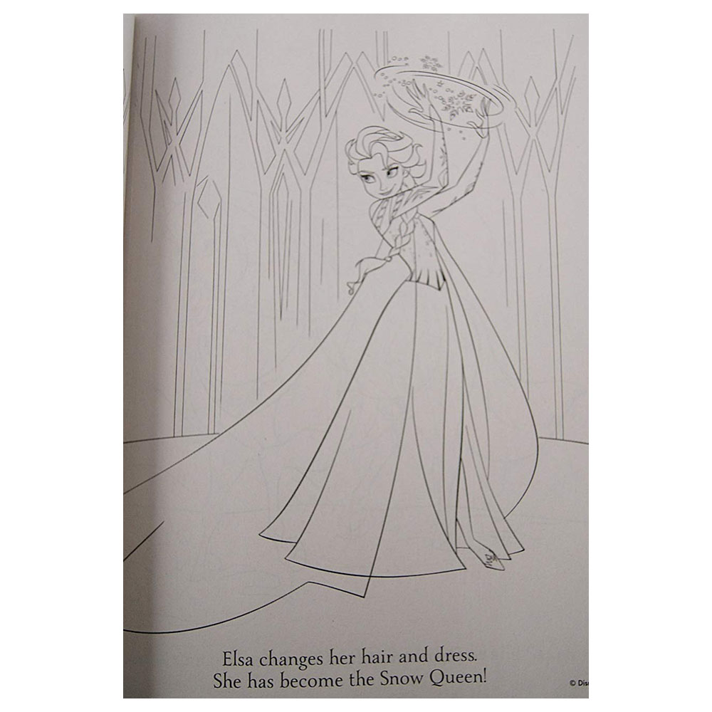 Elsa and Anna Coloring and Activity Book 96 Pages Coloring Books