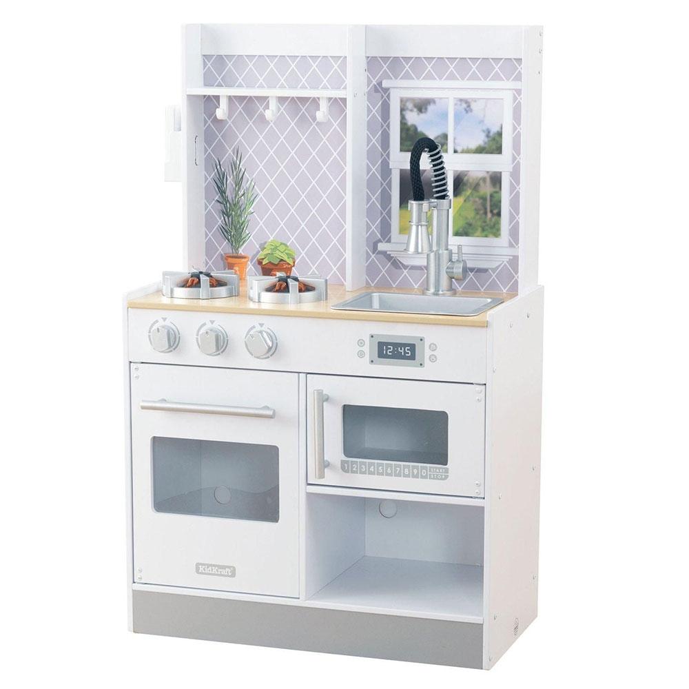Kidkraft Let S Cook Wooden Play Kitchen