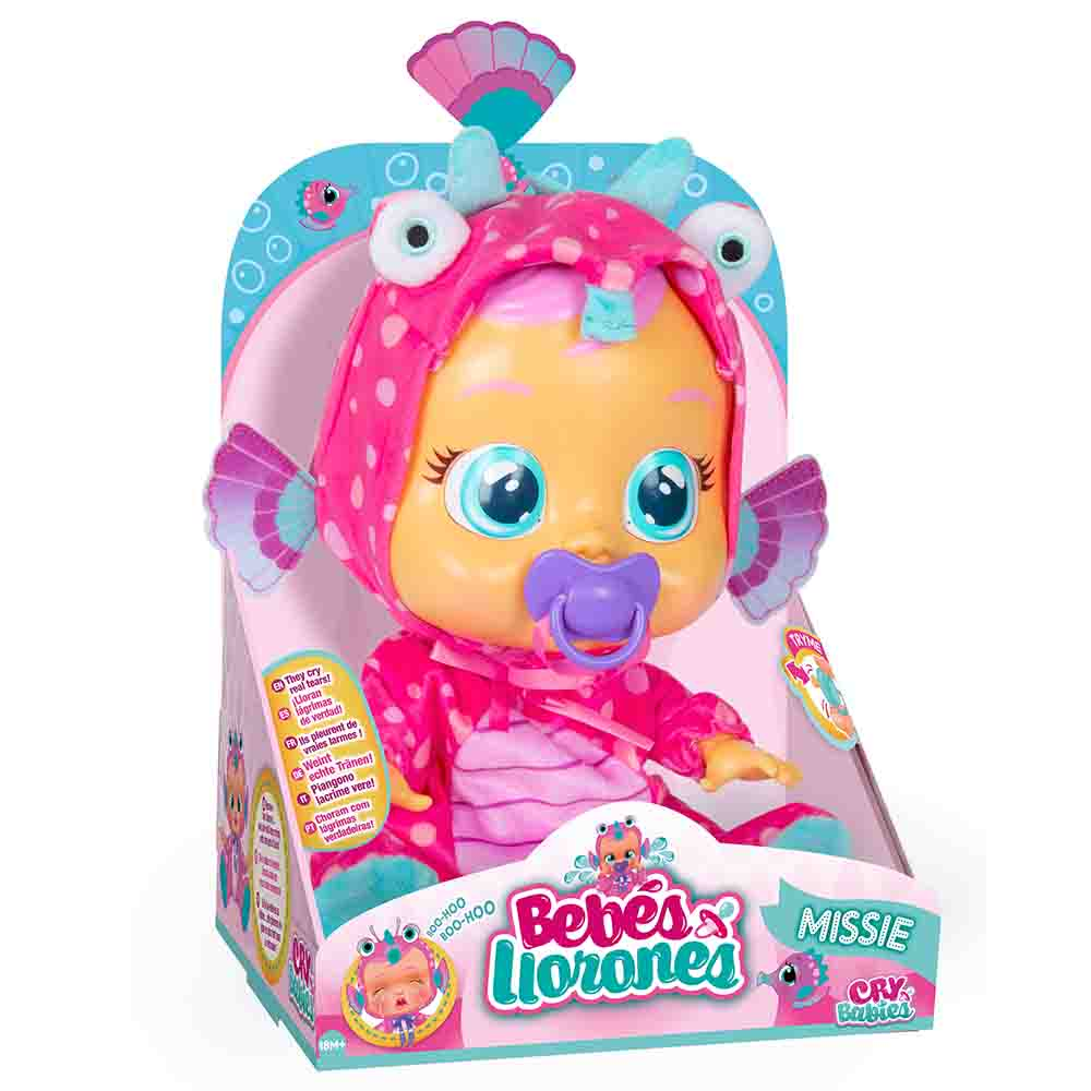 Cry Babies Interactive Doll Exclusive Missie