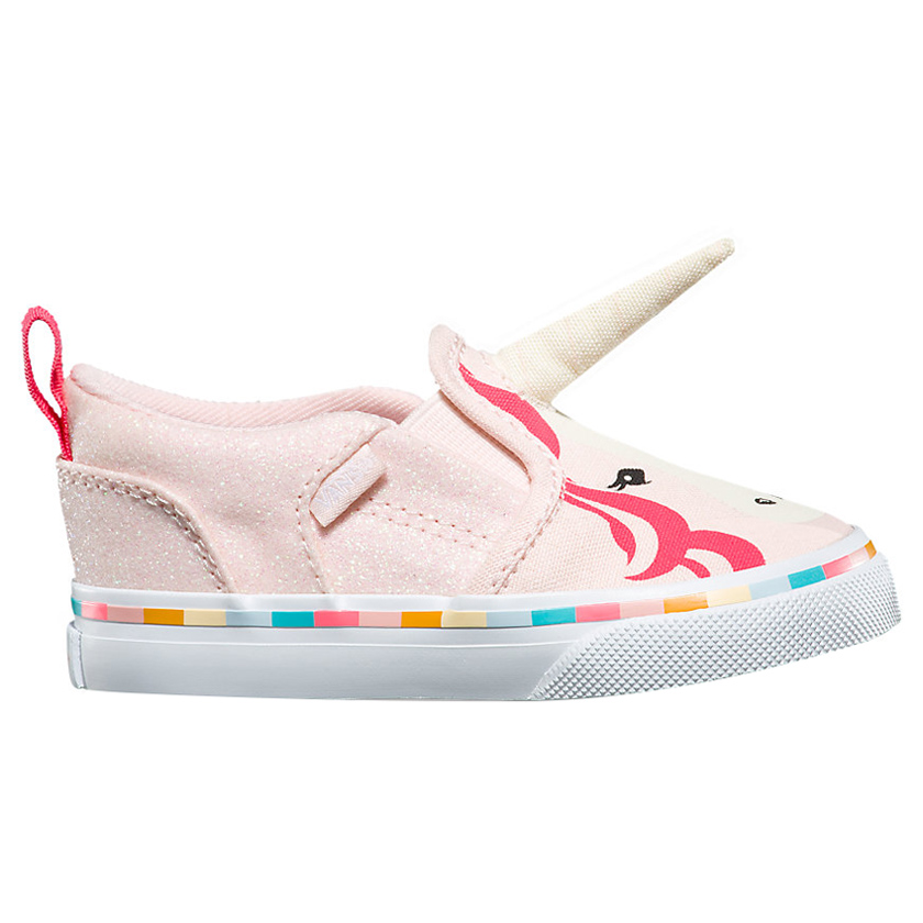 Vans - Asher V Unicorn Shoes - Pink