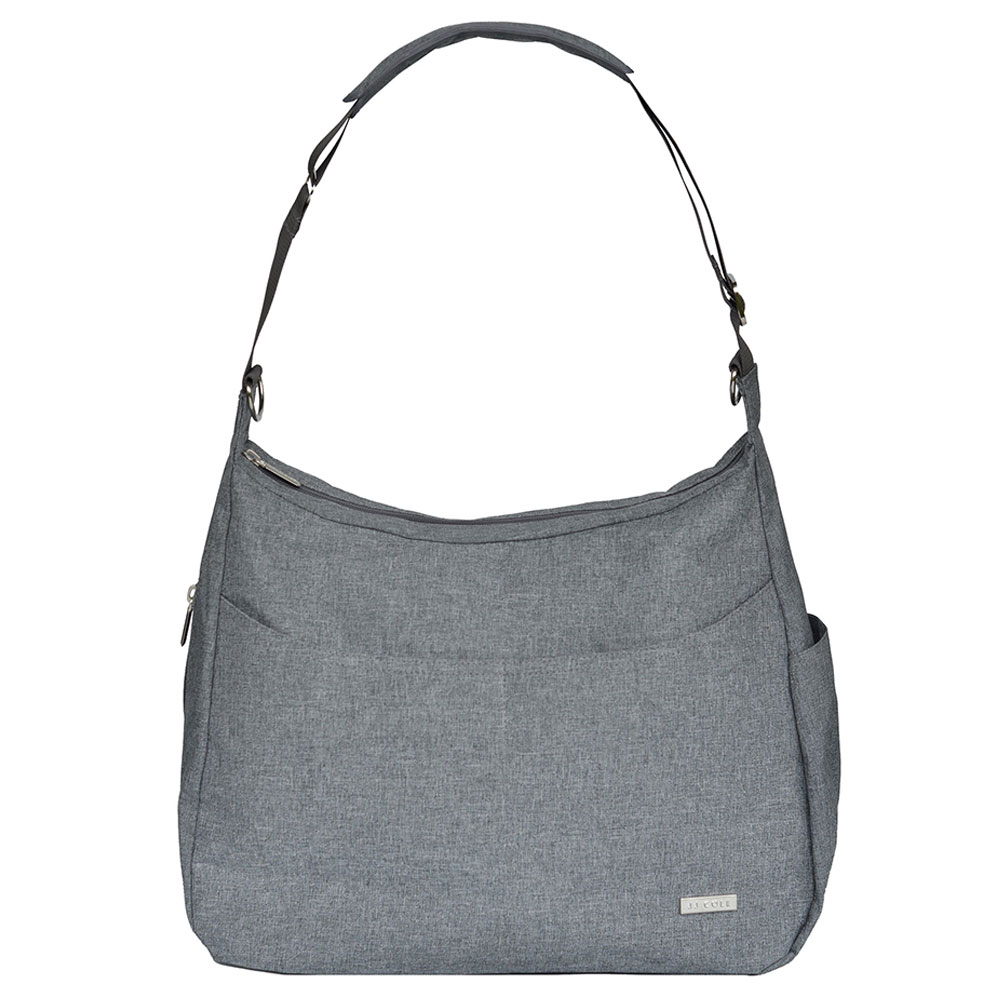 Jj Cole Linden Diaper Bag Gray Heather