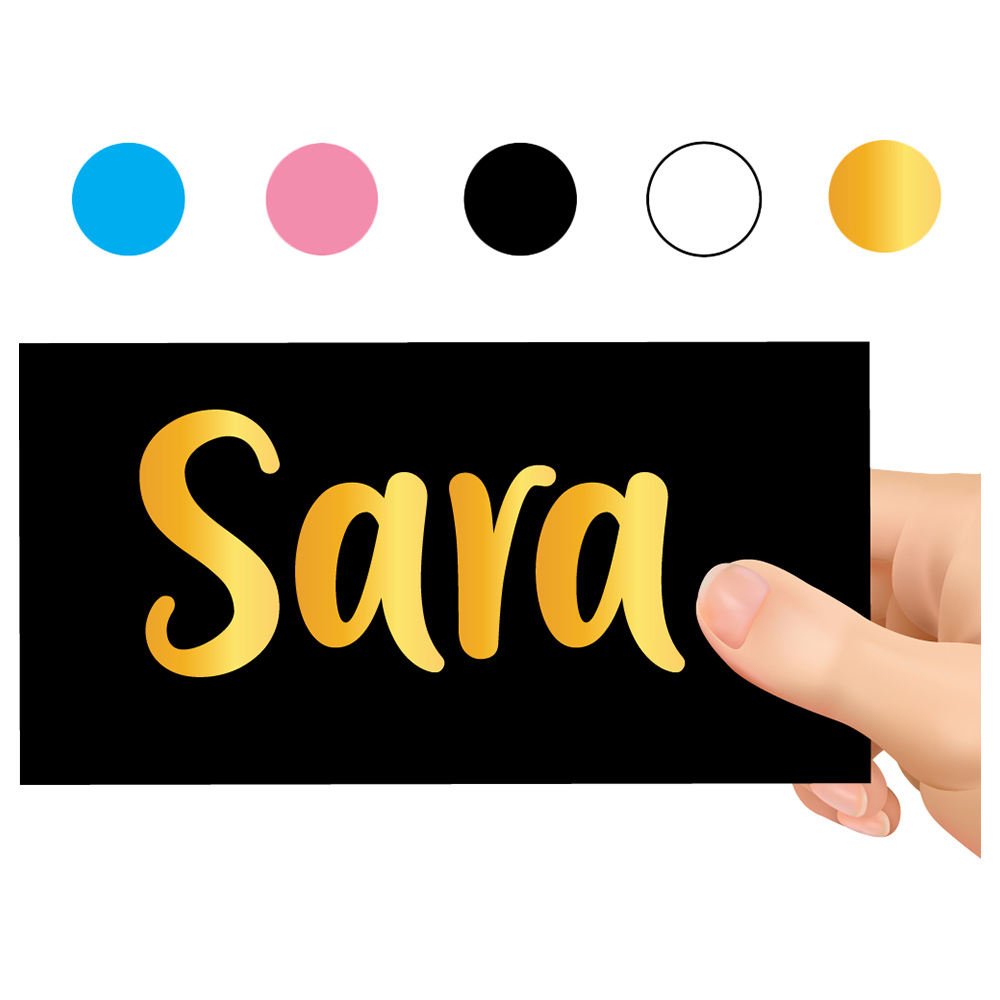 Le Hands Personalized Name Decal